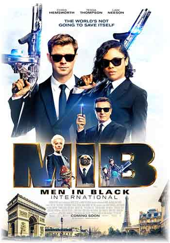 Men in Black International 2019 Dual Audio Hindi Dubbed HDRip