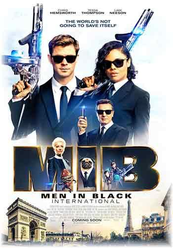 Men in Black International 2019 Dual Audio Hindi Dubbed HDRip