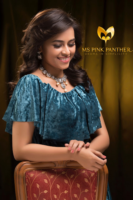 Sri Divya Beautiful Picture For Ms Pink Panther Jewellery Ad