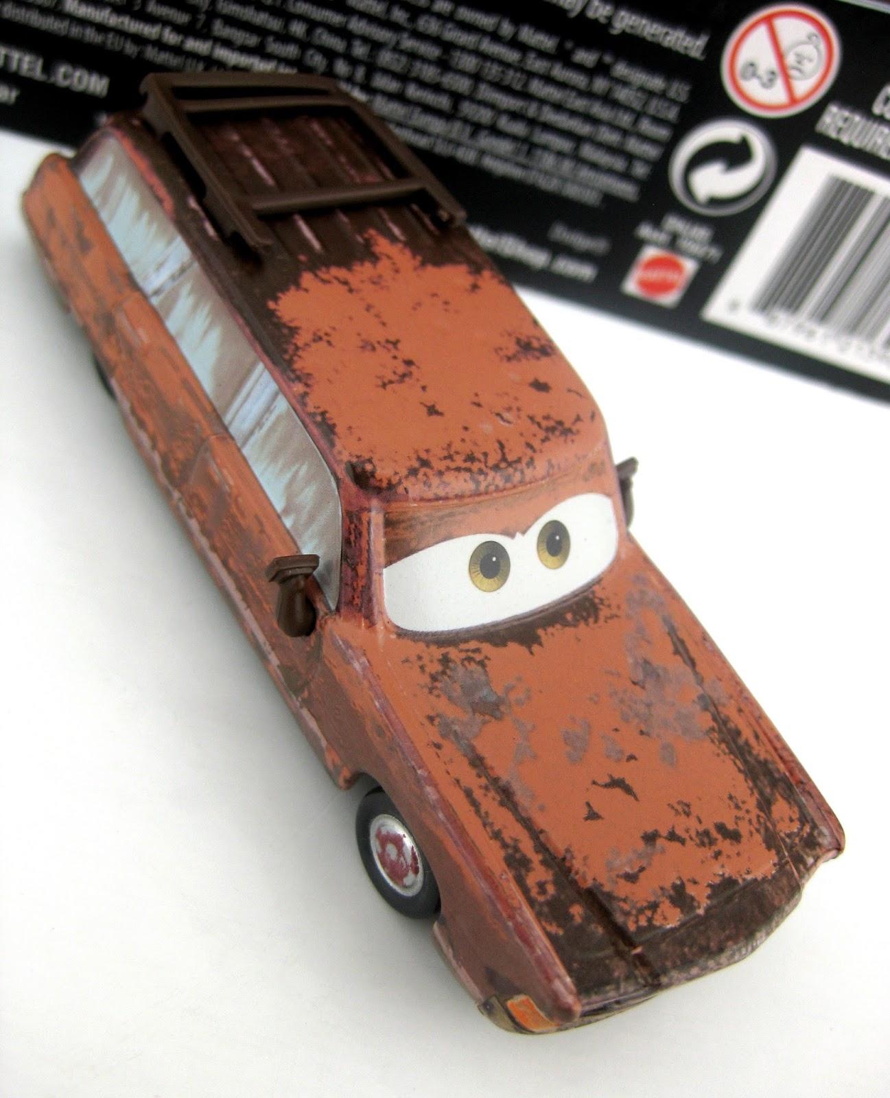 mattel Cars J. Shoesteer