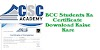 CSC Academy BCC Ka Certificate Download Kaise Kare