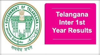 Telangana Inter 1st Year Results 2017 first Year Marks