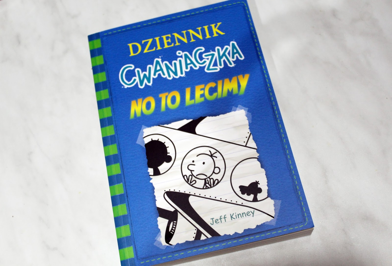 Jeff Kinney Dziennik Cwaniaczka - No to lecimy - Wydawnictwo Nasza Księgarnia