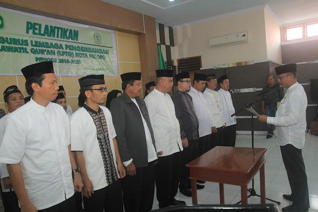 Agus Arifin Nu'mang Lantik Pengurus LPTQ Palopo