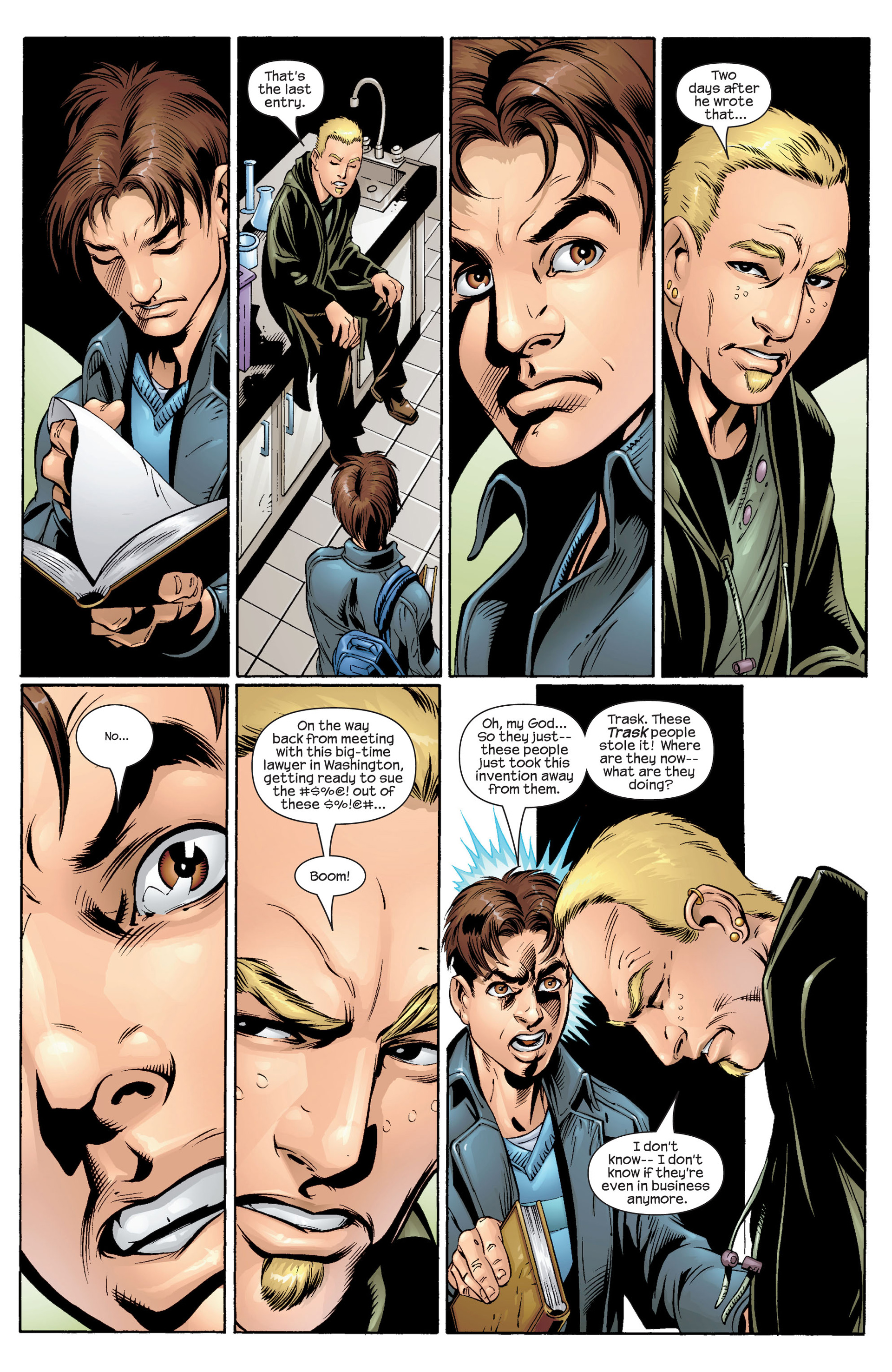 Read online Ultimate Spider-Man (2000) comic -  Issue #34 - 6