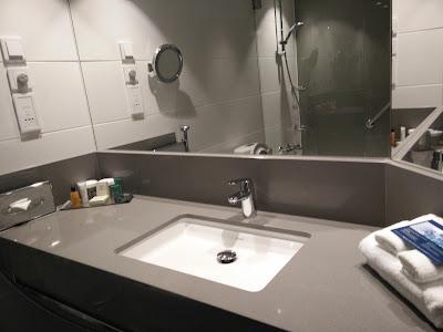 Executive Room bathroom Hilton Strand Helsinki