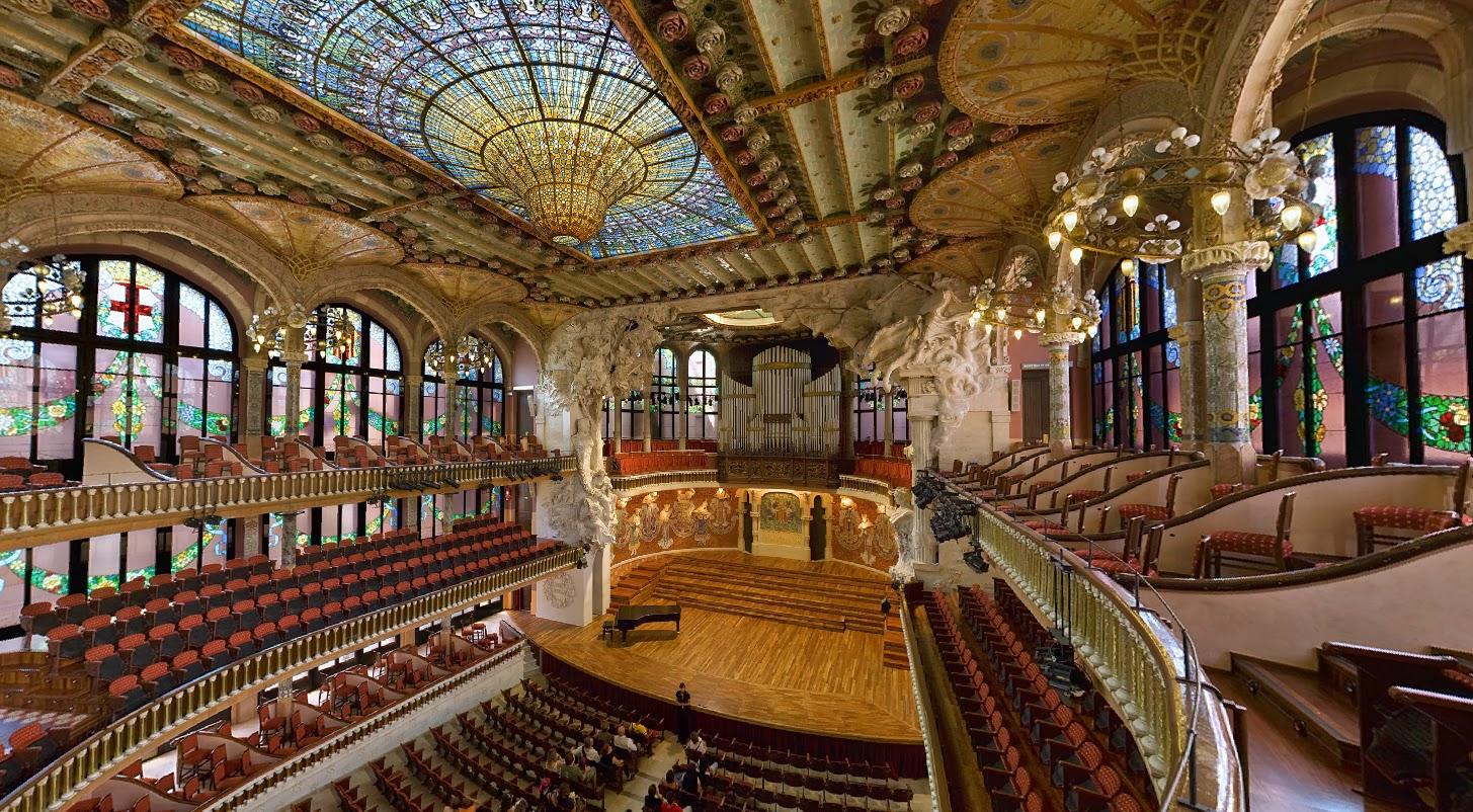 Design the palau de la m sica catalana barcelona - Casas de musica en barcelona ...