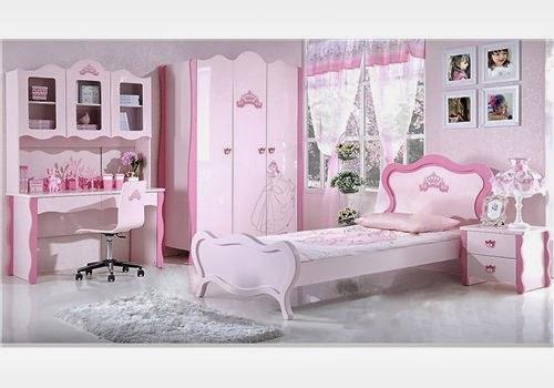 Cuartos de ni a en rosa dormitorios colores y estilos - Dormitorios infantiles clasicos ...