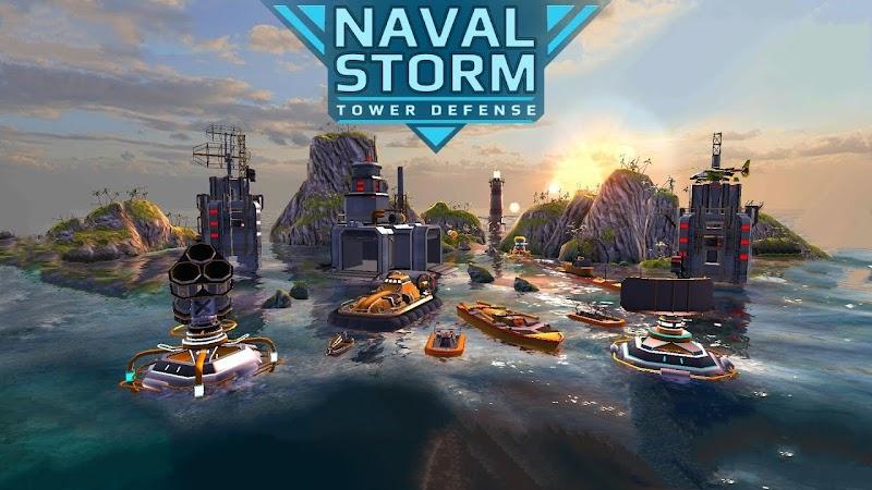 Naval Storm TD v0.9.3 Apk Mod [Dinheiro Infinito]