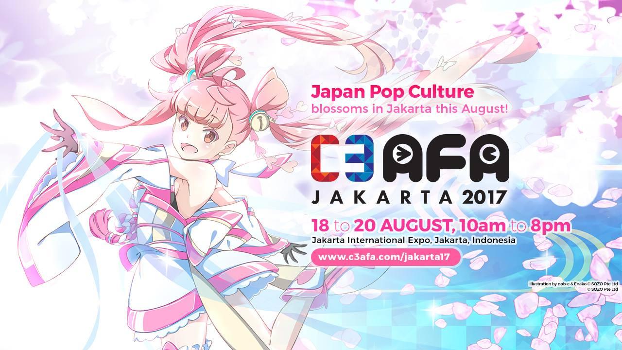 Festival Anime Terbesar Di Asia Tenggara Ini Akan Menyambut Para Penggemarnya Jakarta Tepatnya JIExpo Pada Tanggal 18