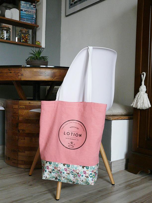 Handmade Tote Bag - What my hands made