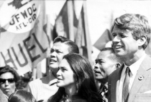 Brooklyn & Boyle | Art and Life in Boyle Heights : On Changing the World: Recalling Bobby Kennedy