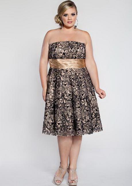 vestidos de moda para gorditas casuales