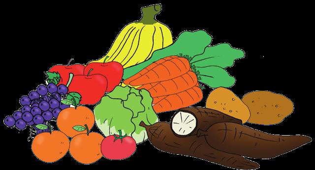 tumbuhan sumber karbonhidrat, protein dan vitamin