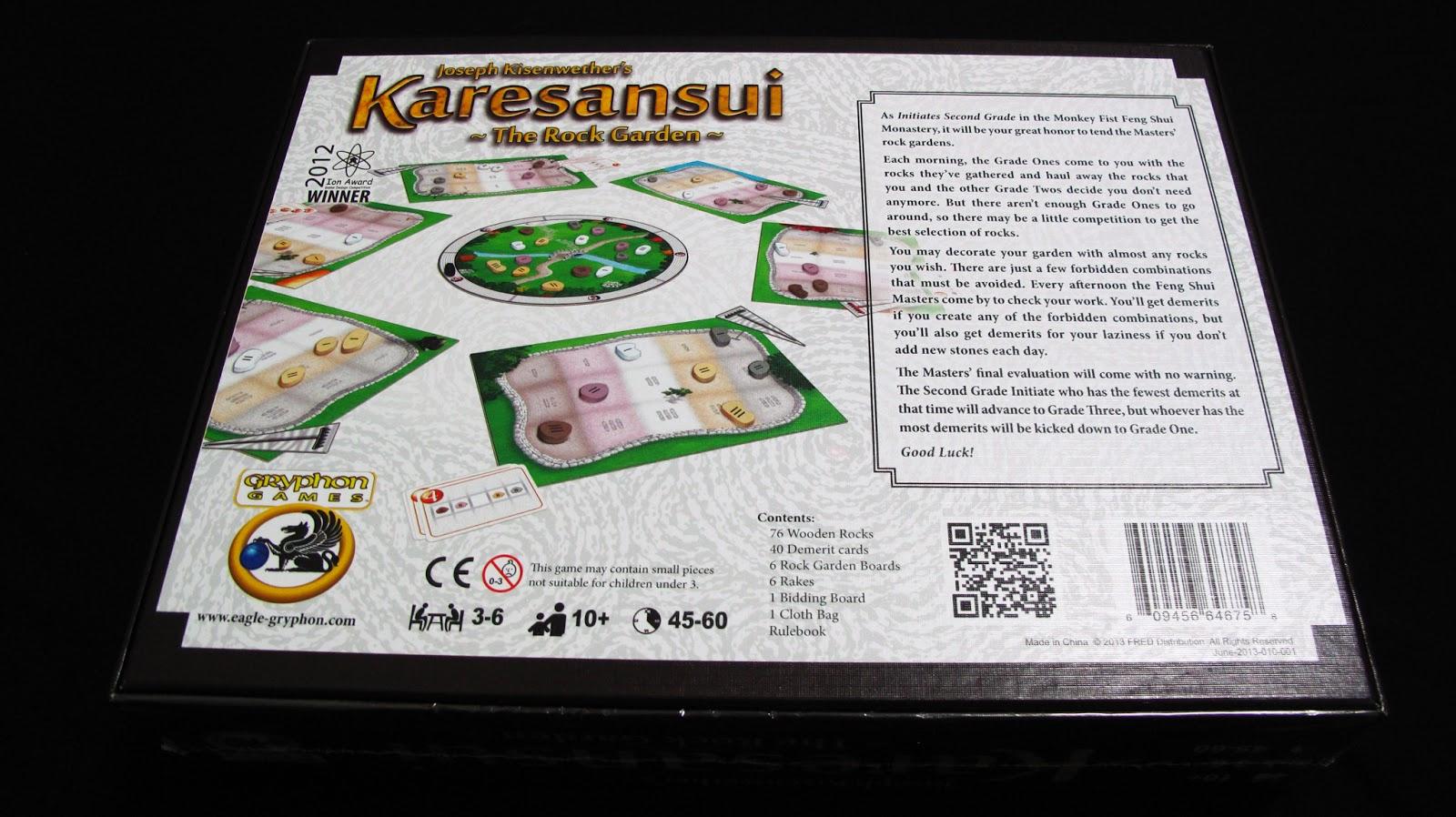 【介紹+開箱+規則】Karesansui + Weed Expansion 枯山水 + 雜草擴充