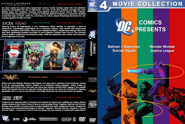 DC Comics Collection DVD Cover