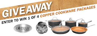 COPPER COOKWARE GIVEAWAY