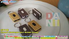 Souvenir Gantungan Kunci Biskuit Creamy