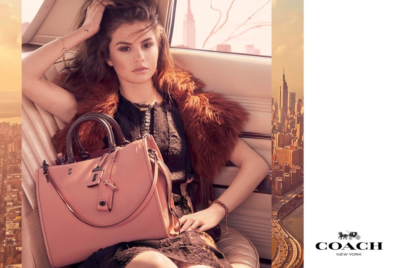 Selena Gomez stars in Coach's fall-winter 2017 campaign