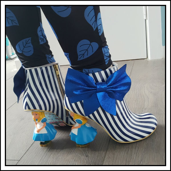 wearing irregular choice alice who in the world am i striped