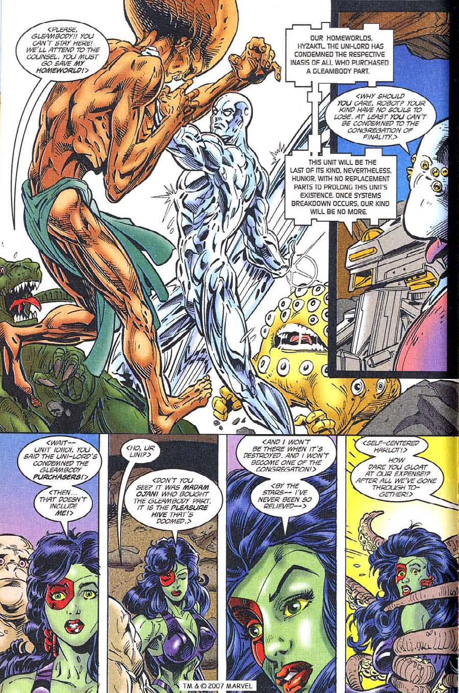 Read online Silver Surfer (1987) comic -  Issue #119 - 6