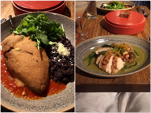 frontera grill chile relleno and green mole