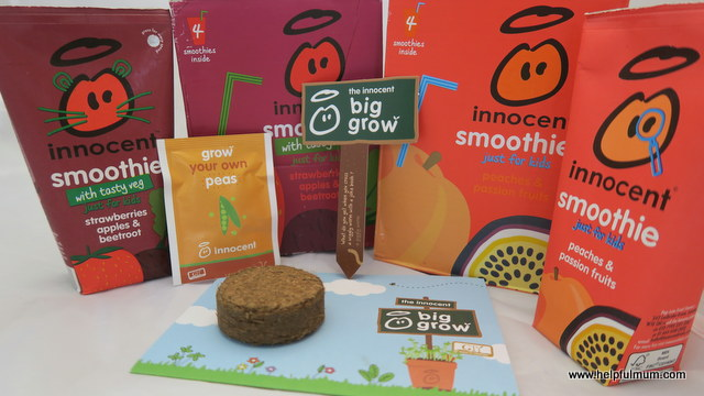 Innocent smoothies the big grow
