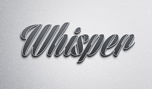 Abstract-Metal-Text-Effect
