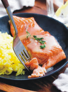 Pan Seared Salmon Recipes with Crispy Skin yet Tender and Moist Flesh