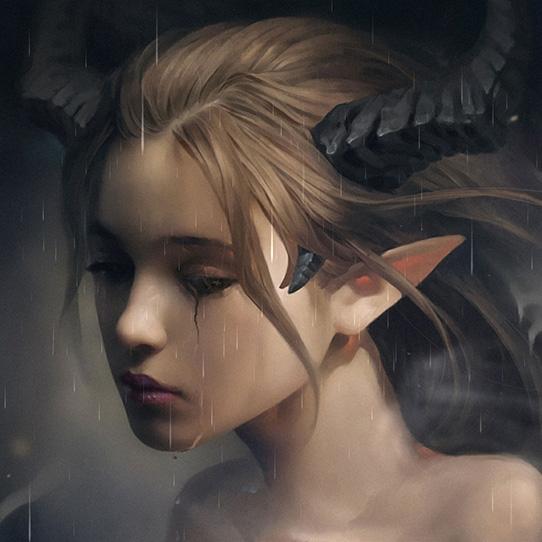 Maleficent Tears Wallpaper Engine