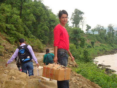 Reaching out to the patients in the hills of Nepal