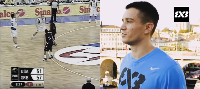 Serbia's 3x3 Player who Outscored Steph Curry - Stefan Stojacic Feature (VIDEO)