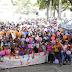 Más de tres mil personas participaron del Gran Carnaval por la Vida de las mujeres.