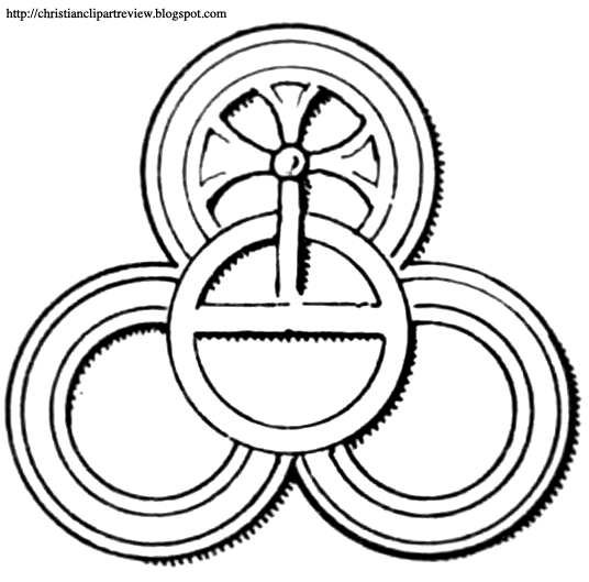 Trinity Ring Symbols From The Catacombs Christian Clip Art Review