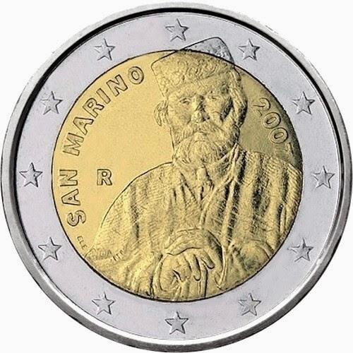 2 euro coins San Marino 2007 Giuseppe Garibaldi