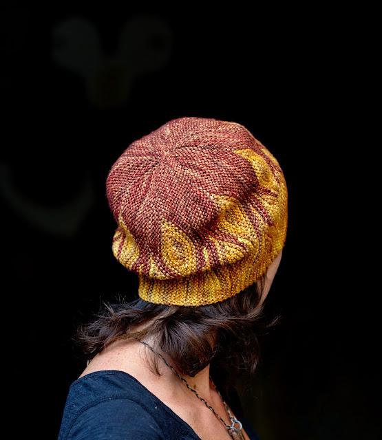 wzor czapki na drutach