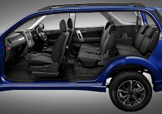Tampilan Interior Toyota Rush