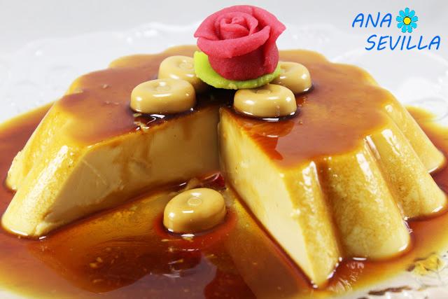 Flan de caramelos Werther`s Original thermomix Ana Sevilla