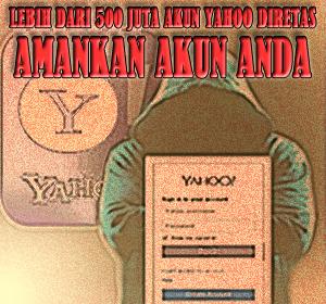 Lebih Dari 500 Juta Akun Yahoo Dretas, Segera Amankan Akun Anda!