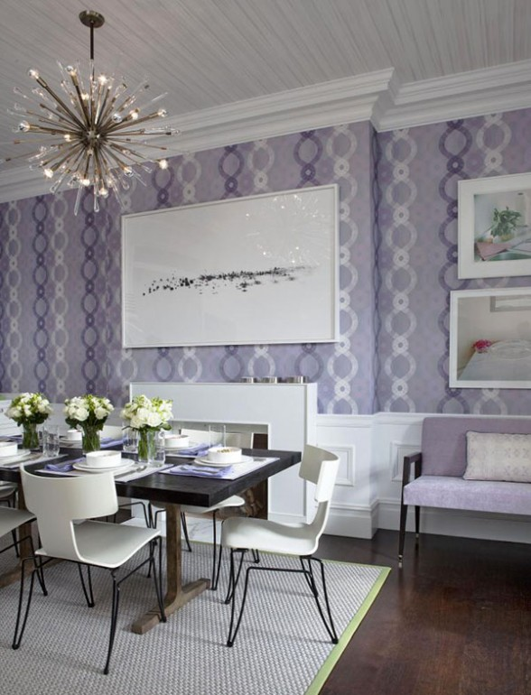 Baby Green Monday Color Lavender