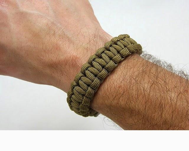 pulseras, brazaletes, hombres, masculina, supervivencia, combate, macrame