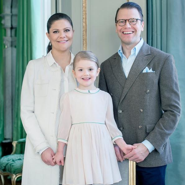 Princess Estelle Of Sweden Turns 4, See Her New Official Portrait