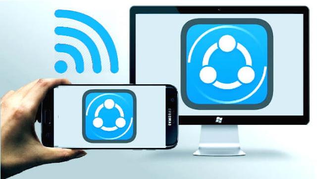 عند تنزيلك لبرنامج shareit مجانا للحاسوب, يمكنك إرسال التطبيقات ومشاركة الملفات مع الهاتف الجوال بالويفي وبدون كابل .وبسرعة كبيرة .