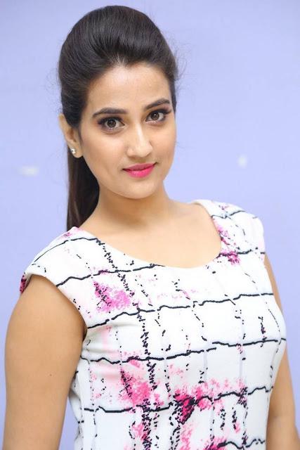 Manjusha Stills At Seetha Ramunikosam First Look Launch
