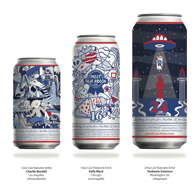 Pabst Blue Ribbon Reveals Winners For 2019 Art Can Contest