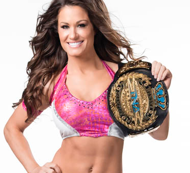 TNA Knockouts Champion Brooke