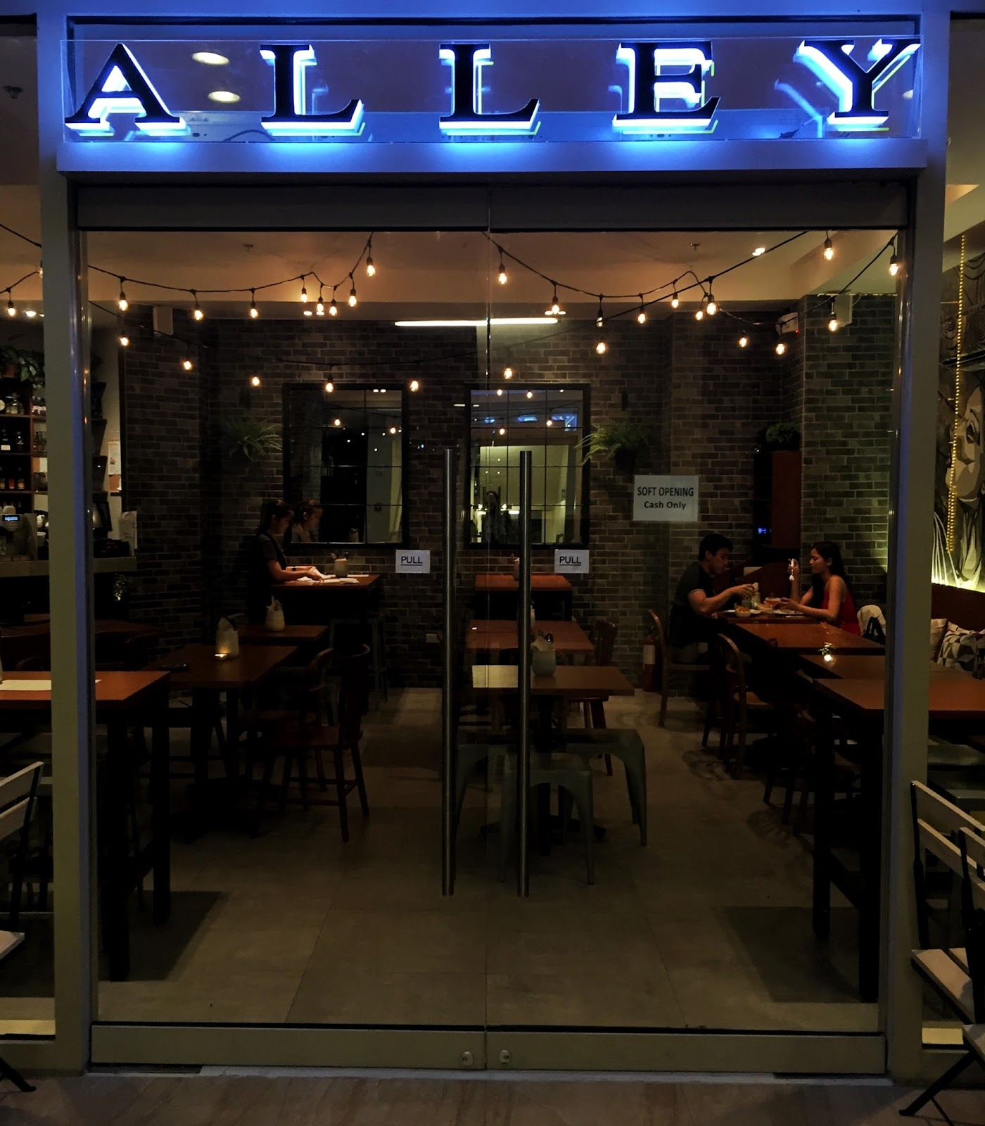 Among The Restaurants I Have Been Eying And Finally Visited Is Alley One Of New Players At Grove