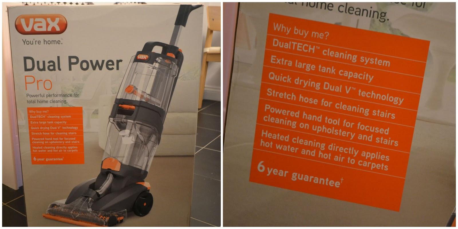 vax dual v advance carpet cleaner instructions