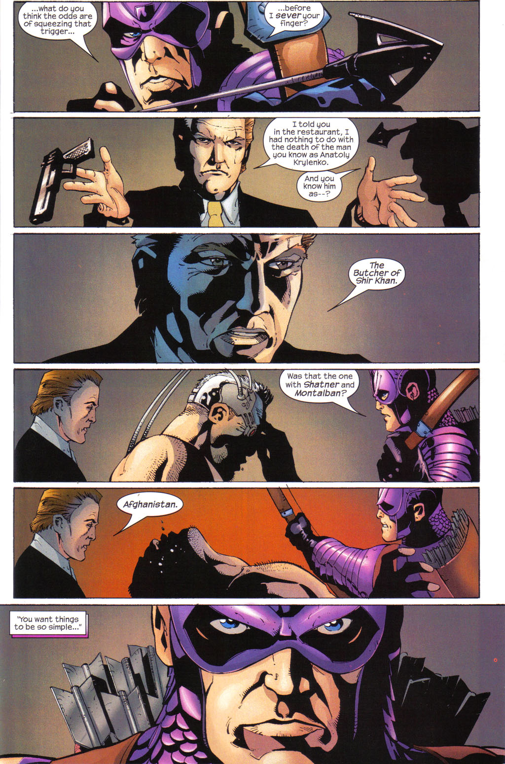 Hawkeye (2003) Issue #7 #7 - English 17