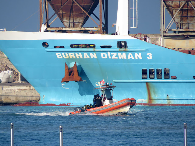 Burhan Dizman 3, IMO 9648843, port of Livorno